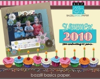Bazzill Basics 2010 Summer Catalogue 3MB